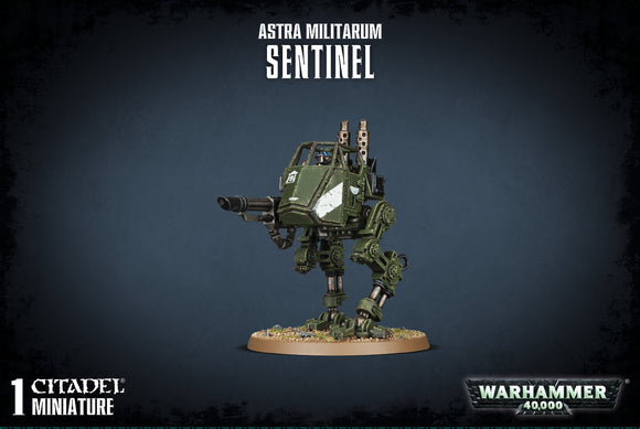 Astra Militarum Sentinel 47-12 Games Workshop Warhammer 40K 40000 Citadel Miniatures GW