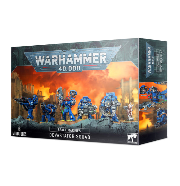 Space Marines Devastator Squad 48-15 Games Workshop Warhammer 40K 40000 Citadel Miniatures GW