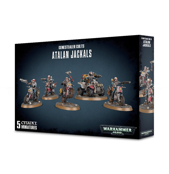 Genestealer Cults Atalan Jackals 51-62 Games Workshop Warhammer 40K 40000 Citadel Miniatures GW