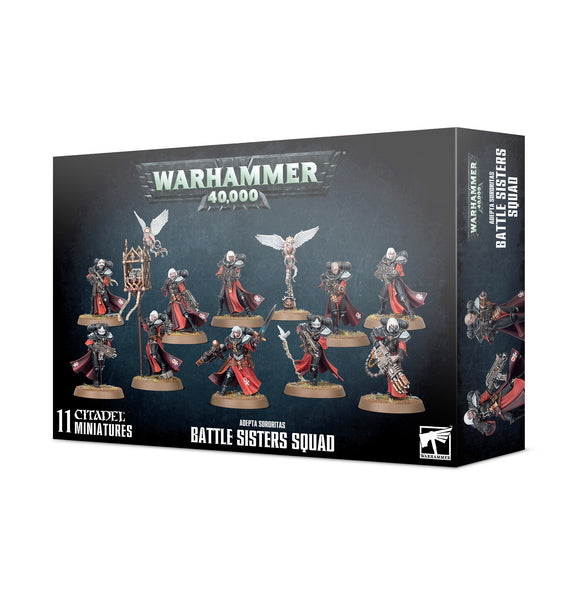 Adepta Sororitas Battle Sisters Squad 52-20 Games Workshop Warhammer 40K 40000 Citadel Miniatures GW AoS