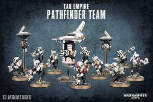 Tau Empire Pathfinder Team 56-09 Games Workshop Warhammer 40K 40000 Citadel Miniatures GW