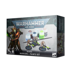 Necrons Warriors And Paint Set 60-69 Games Workshop Warhammer 40K 40000 Citadel Miniatures
