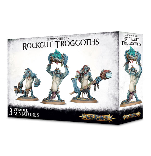 Gloomspite Gitz Rockgut Troggoths 89-33 Games Workshop Warhammer Age Of Sigmar Citadel Miniatures GW