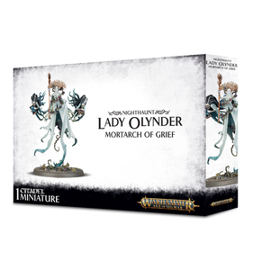 Nighthaunt Lady Olynder 91-25 Games Workshop Warhammer Age Of Sigmar Citadel Miniatures GW