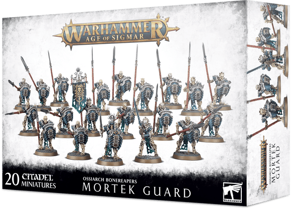 Ossiarch Bonereapers Mortek Guard 94-25 Games Workshop Warhammer Age Of Sigmar Citadel Miniatures GW 40K