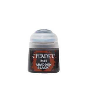 Abaddon Black 12Ml 21-25 Games Workshop Citadel Base Paint Warhammer 40K GW