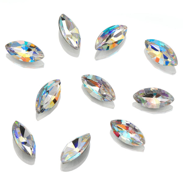 GENUINE CRYSTAL RHINESTONES - POINTED BACK