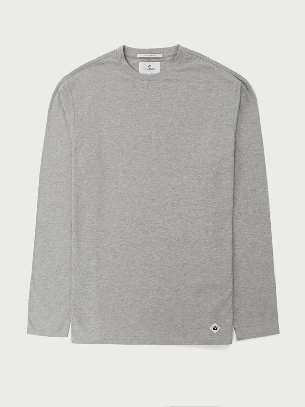 Christer Grey Long Sleeve T-Shirt