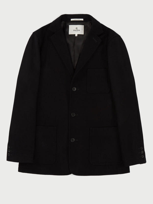 Ramsan Black Deconstructed Blazer