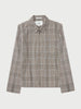 Vinga Checked Harrington Jacket
