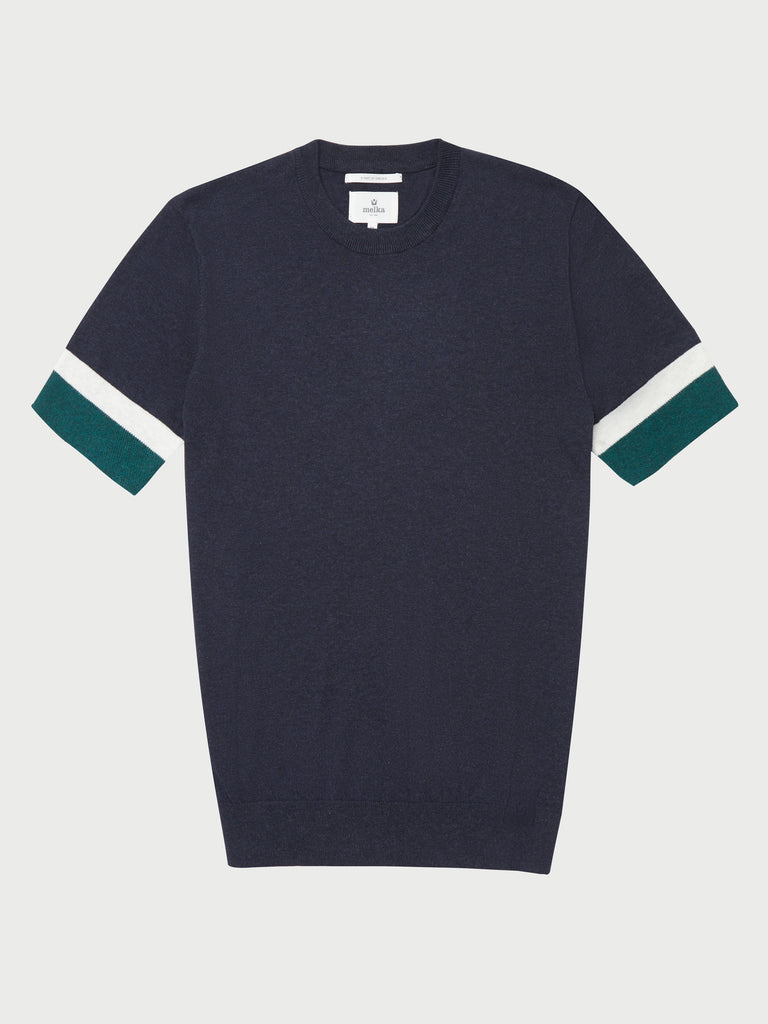 Anders Short Sleeve Knitted Tee