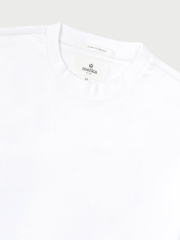 Larsson White Short Sleeve T-Shirt