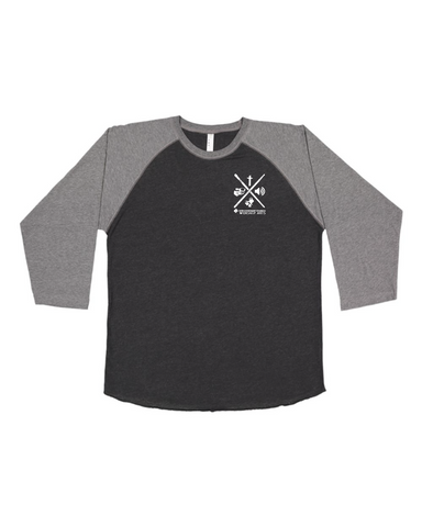 New Covenant Church Raglan Baseball Tee