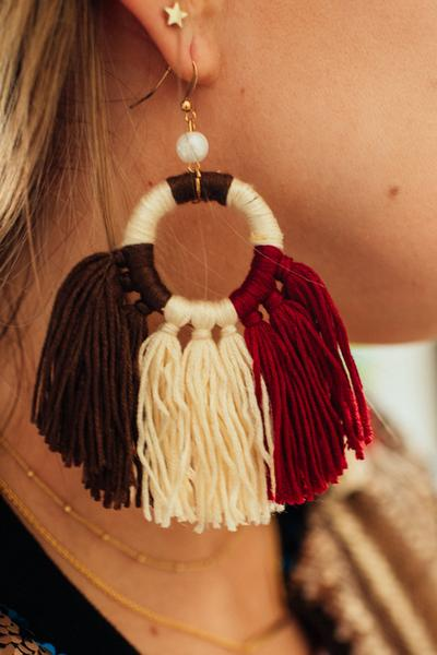 Mystic Macrame Earrings