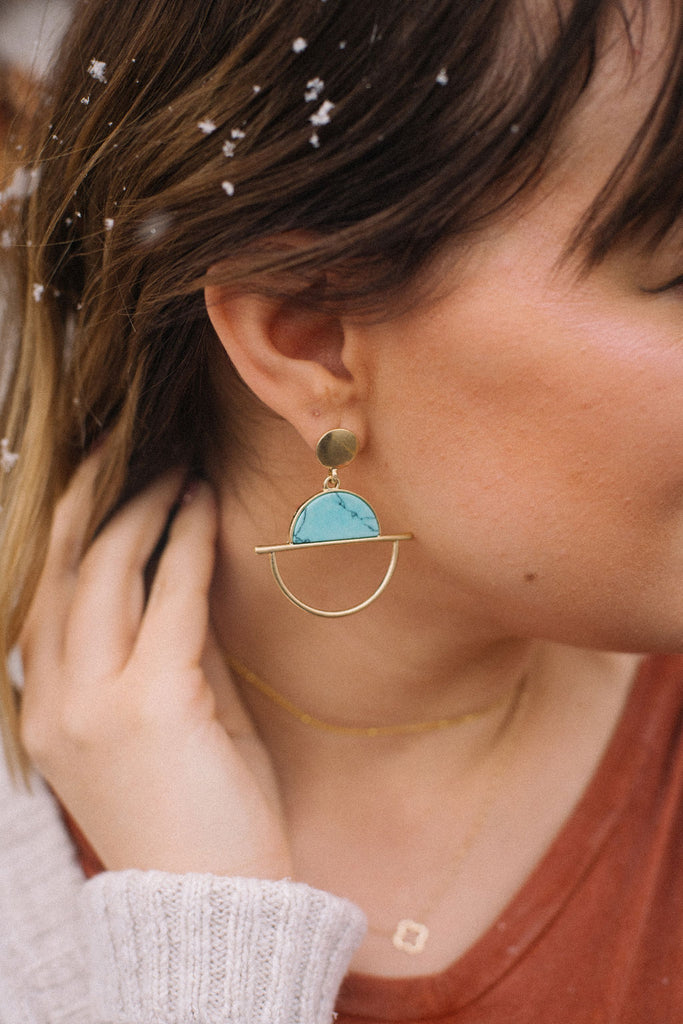 Turquoise Soul Earrings