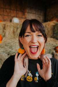 The Great Pumpkin Earrings