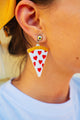 Pizza Lover Drop Earrings