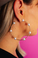 Dreamy Pearl Hoops **RESTOCKED
