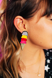Ice Cream Dream Statement Studs
