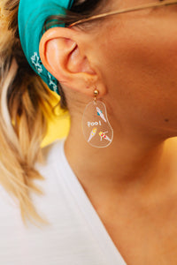 Pool Party Drop Earrings