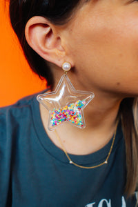 Stardust Drop Earrings