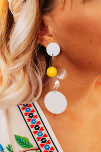 Lazy Daisy Drop Earrings