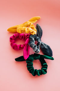 Velvet Girl Scrunchie
