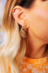 Moony Lovers Statement Studs
