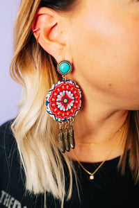 Boho Girl Drop Earrings