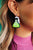 Science Queen Drop Earrings
