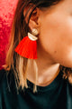 The Final Rose Tassel earrings