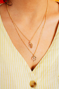 Palm Layered Necklace