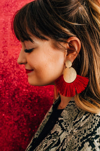 Be Your Own Fangirl Fringe Earrings