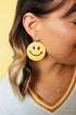 Classic Smiley Drop Earrings