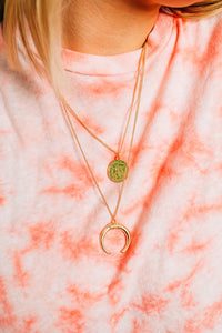Lucky Girl Layered necklace