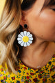 Groovy Daisies Drop Earrings