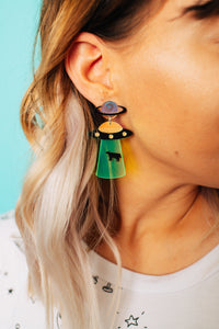 Aliens are Real Drop Earrings **RESTOCKED