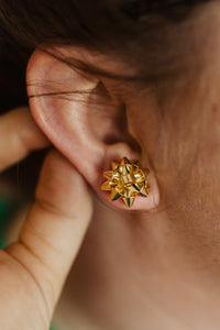 Ribbons and GOLD Bows Studs