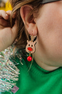 The Most Famous Reindeer of All Drop Earrings