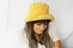 Daisy Queen Bucket Hat