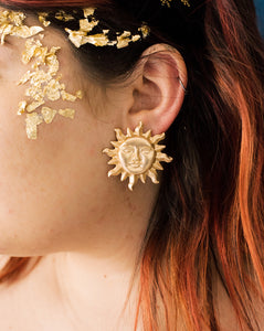 Midnight Sun Statement Studs
