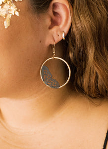 Social Butterfly Drop Earrings