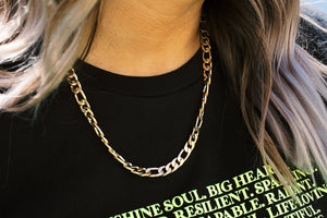 Edgy Queen Chain Necklace