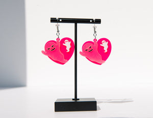 Ghosty Love Drop Earrings
