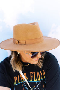 The Everyday Hat In Camel
