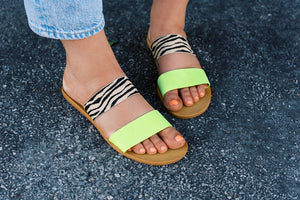 Eye Of The Tiger Sandals