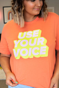Use Your Voice RJ Exclusive Tee