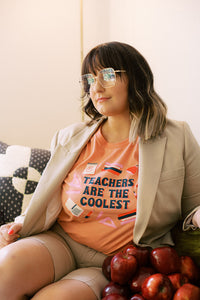 Teachers Are The Coolest Exclusive Tee