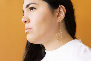 Powerful Woman Drop Earrings