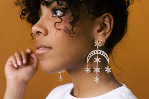 You are Celestial Drop Earrings